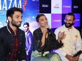 Rohan Mehra, Radhika Apte and Saif Ali Khan