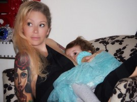 Jenna Jameson celebrates 18 months of breastfeeding daughter