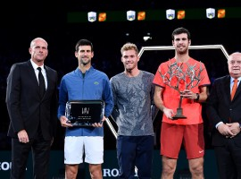 Karen Khachanov shocks Novak Djokovic to win Paris Masters crown