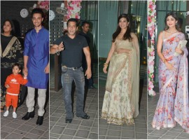 Celebs at Arpita Khan's Diwali bash