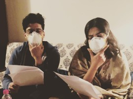 Farhan Akhtar, Priyanka Chopra struggle with Delhi's pollution as they shoot for 'The Sky Is Pink' in masks