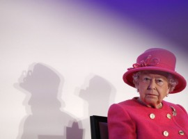Queen Elizabeth II at Royal Insitute of Chartered Surveyors (RICS)
