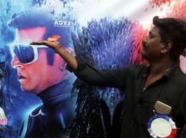 2.0 Releases As Fans Celebrate Rajinikanth