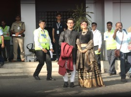 Isha Ambani Wedding Arrivals