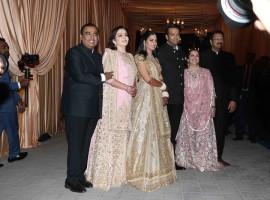 Isha Ambani and Anand Piramal Wedding Reception