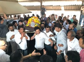 Master Blaster Bids Farewell To His Master