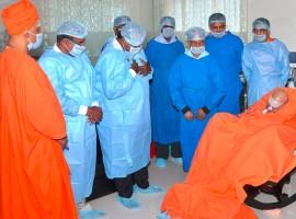 Shivakumar Swamiji Health