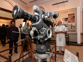 TV stars and Bollywood Biggies attend the inauguration the National Museum of Indian Cinema