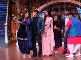 Salman Khan, Katrina Kaif promote Bharat on The Kapil Sharma Show