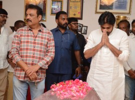 Pawan Kalyan pays his last respects to Vijay Nirmala