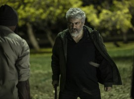 A Fierce Look of Ajith Kumar in Nerkonda Paarvai