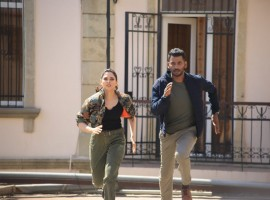 Tamannaah and Vishal in Action