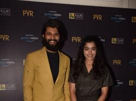 Vijay Devarakonda with Rashmika Mandanna