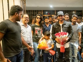 Allu Arjun with his family