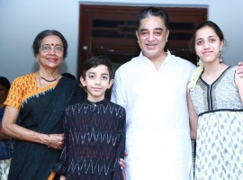 Kamal Haasan with his Family Members