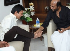 Rajinikanth with Pranav