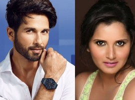 Was Shahid Kapoor dating Sania Mirza Once Upon a Time?
