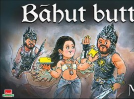 Amul has come up with new creative poster ad of the latest blockbuster hit 'Baahubali'