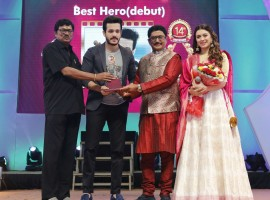 Santosham South Indian Film Awards 2016 event held at Hyderabad. Celebs like Rana Daggubati, Akhil Akkineni, Hansika Motwani, Arun Vijay, Allu Sirish, Pranitha Subhash, Allu Aravind, Rajendra Prasad, Nikki Galrani, Sudheer Babu, Vidyullekha Raman, Devi Sri Prasad, Dasari Narayana Rao, Surabhi, Manasa Himavarsha, Suresh Kondeti, Prudhviraj, Rashmi Gautam, C Kalyan, Prudhviraj, Hema, Gunasekhar, Hebah Patel, Koratala Siva, Nandu, Srimukhi, Murali Mohan, Aadhi, Gunasekhar, Jayaprada, Katragadda Prasad, Robo Shankar, Akkineni Ramesh Prasad, Ravi Raja Pinisetty, Editor Mohan and others graced the event.