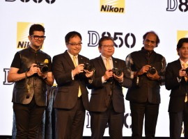 Extending its FX-format DSLR camera range, imaging technology major Nikon India on Monday launched Nikon D850, which comes with a 45.7 MP BSI CMOS sensor. Priced at Rs 254,950 for the body only and Rs 299,950 for D850 with