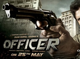 Officer first look: Nagarjuna as Badass Cop with license to kill in Ram Gopal Varma movie.