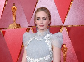 Emily Blunt attends the 90th Annual Academy Awards at Hollywood & Highland Center on March 4, 2018 in Hollywood, California.
