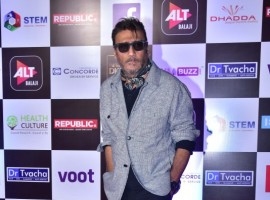 Jackie Shroff arrives at IWM Digital Awards 2018.