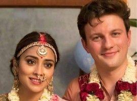 Actress Shriya Saran and Andrei Koscheev's wedding stills.
