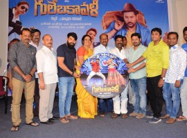 Prabhu Deva, Hansika Motwani and Revathi starrer Gulebakavali audio launch held at Hyderabad.