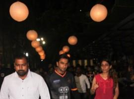Bollywood actor Ranbir Kapoor hits the football ground again!