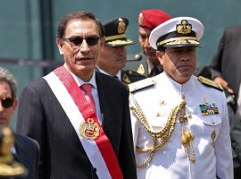 Peru's new President Martin Vizcarra took the oath of office on Friday, pledging to take a strong stance against corruption in government. Vizcarra, who was vice president until scandal-hit Pedro Pablo Kuczynski handed in his resignation as president on Wednesday, also called for national unity.