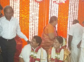 Rebel AIADMK leader Sasikala Pushpa married lawyer B Ramaswamy in a private ceremony in Delhi on Monday, defying a court order which had stayed the marriage.