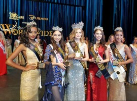 Ekaterina Evdokimova of Russia was declared 1st runner-up, Uzbekistan's Zarina Andirjanova was crowned second runner-up and Chantarachota Paphattanun from Thailand took the third runner-up spot at the event here on Monday night.