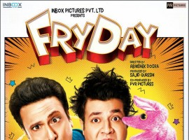 Here is the first look poster of Bollywood movie Fryday starring Govinda, Varun Sharma and Sanjay Mishra in the lead role. Movie directed by Abhishek Dogra and produced by Sajid Qureshi and Mahipal Karan Rathore under Inbox Pictures PVT.LTD. banner.