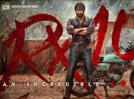 Here is the first look poster of Telugu movie RX 100 (An Incredible Love Story) starring Karthikeya and Payal Rajput in the lead role. Movie directed by Ajay Bhupathi and produced by Ashok Gummakonda under KCW banner.