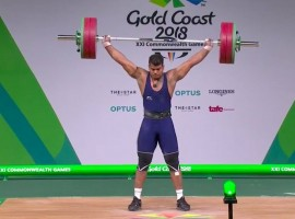 Indian weightlifter Venkat Rahul Ragala clinched the gold medal in the men's 85kg competition at the Commonwealth Games here on Saturday.