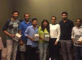 South Indian actor Mahesh Babu gives surprise gift of iPhone X mobiles for Bharat Ane Nenu cast and crew as a token of appreciation. The film is set to hit the screens on April 20, 2018 and the stars are promoting it in a full swing.