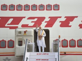 Prime Minister Narendra Modi on Monday left for Sweden on the first leg of his three-nation tour of Europe that will also see him going to Britain and Germany. This is the first prime ministerial visit from India to Sweden in 30 years after the visit of Rajiv Gandhi in 1988. On Tuesday, Modi will hold a bilateral summit with Swedish Prime Minister Stefan Lofven following which a number of agreements are expected to be signed. This apart, Modi and Lofven will attend a round table of Swedish CEOs.