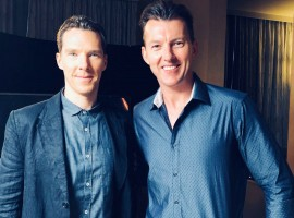 Australian cricketing legend Brett Lee recently met with Marvel Studios' Avengers: Infinity War Star Benedict Cumberbatch to talk about the Indian Premier League and his upcoming movie Avengers: Infinity War. The exclusive meeting took place during the Avengers: Infinity war press tour in Singapore and will be aired only on the Star Sports Network as a part of KENT CRICKET LIVE during this week's SUPER SUNDAY broadcast ON APRIL 22, 2018 AT 2:30 PM. The Englishman, Benedict Cumberbatch, is familiar with the game, took on Brett Lee in the segment that is being pitted as a BestVsBest match up. Marvel Studios' Avengers: Infinity War is set to release in India on the 27th of April 2018 in English, Hindi, Tamil and Telugu, in 2D, 3D and IMAX 3D formats.