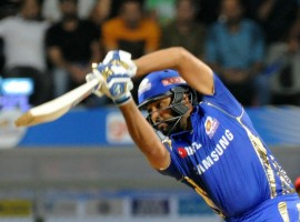 Skipper Virat Kohli's unbeaten 92-run innings went in vain as Royal Challengers Bangalore lost by 46 runs to Mumbai Indians in an Indian Premier League (IPL) match here on Tuesday. This is the first win for Mumbai in this edition of the cash-rich league. Kohli, who opened the innings with Quinton de Kock, remained unbeaten but could not guide his team to victory. In his 62-ball innings Kohli slammed seven boundaries and four sixes. Chasing a mammoth 214, Bangalore started off on a positive note, scoring 40 runs in 4.1 overs but after the fall of de Kock's wicket, the visitors never looked in contention, losing wickets at regular intervals.