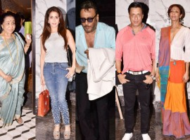 Poonam Dhillon turns 56, Throws lavish star-studded birthday party at Tippling Street in Juhu, Mumbai. From left to right Asha Bhosle, Krishika Lulla, Jackie Shroff, Madhur Bhandarkar and Achint Kaur graced the event. Check out the above slideshow to see the photos of celebs like Akbar Khan, Anju Anu Malik, Anmol Malik, Deepshikha Nagpal, Fashion Designer Rohit Verma, Himalaya Dasani, Bhagyashree, Karan Patel, Ankita Bhargava, Nafisa Ali, Rajesh Khattar, Vandana Sajnani, Ramesh Taurani, Shabana Azmi, Javed Akhtar, Vindu Dara Singh, Dina Umarova and other celebs were also seen during a birthday party.