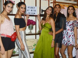 FancyPants, the high-street fashion brand that offers fashionistas carefully-curated, bold and irreverent collections of fashion and accessories, launched its first store in Juhu with a stylish event. To celebrate the launch, sisters behind the brand, Jankee and Stuti Desai, in collaboration with model Erika Packard, welcomed the who's-who of the fashion world to the store. Guests were seen checking out the latest Spring-Summer collection. Jankee and Stuti personally gave tours of the store to guests including Tanisha Rahimtula, Alisha Shirodkar, Anushka Rajan, Candice Pinto, Miss Malini, Payalia, Amyra Dastur, Arshia Ahuja, Aastha Sharma, Priyanka Banerjee, Mitali Rannorey and Tejaswini Kolhapure.