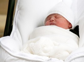 Catherine, Duchess of Cambridge and wife of Prince William, gave birth to a baby boy on Monday, the royal family announced. The child was born at 11 a.m. in St. Mary's Hospital weighing 8lbs 7oz (3.8 kg). The royal couple's third child is fifth in line to the British throne after grandfather Prince Charles, father Prince William and two siblings. The newest addition to the royal family is a younger brother to Prince George, 4, and Princess Charlotte, 2, and is Queen Elizabeth II's sixth great-grandchild.