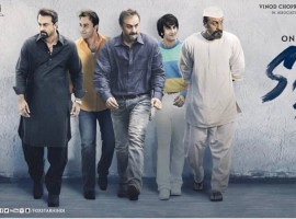 The poster features Ranbir Kapoor showcasing 5 different shades of Sanjay Dutt in one frame giving a glimpse of the superstar's colourful life. The recently released teaser of Sanju traces the journey of highs and lows of Bollywood Superstar Sanjay Dutt. Coming from a family of cinema legends, he himself became a film star, and then saw dizzying heights and darkest depths: adulation of diehard fans, unending battles with various addictions, brushes with the underworld, prison terms, loss of loved ones, and the haunting speculation that he might or might not be a terrorist. Starring Ranbir Kapoor, Paresh Rawal, Manisha Koirala, Anushka Sharma, Sonam Kapoor, Dia Mirza, Vicky Kaushal, Jim Sarbh and Boman Irani. Directed by Rajkumar Hirani, Sanju is Produced by Vinod Chopra Films and Rajkumar Hirani Films in association with Fox Star Studios, slated to release on 29th June, 2018.