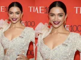Bollywood's leading lady Deepika Padukone made heads turn as she made a stunning appearance on the international red carpet for TIME 100 gala. Dressed in a white dreamy embroidered saree drape, the actress was a visual delight. Deepika Padukone recently was listed amongst TIME 100 Influential People of 2018, emerging to be the only Bollywood personality on the prestigious list. Attending the event to felicitate her achievement, Deepika treated shutterbugs with humility with folded hands. The Padmaavat star was a vision in white as she striked a happy pose at the gala.