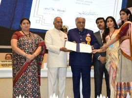 Sridevi's husband and producer Boney Kapoor says the late actress gave her best to all the films that she did in her career and it is unfortunate that she is getting her first National Film Award after her death. Boney on Thursday was here with his two daughters Jahnvi and Khushi to receive the Best Actress posthumous honour the 65th National Film Awards ceremony. Jahnvi wore her mother's sari for the occasion, revealed designer and close family friend Manish Malhotra.