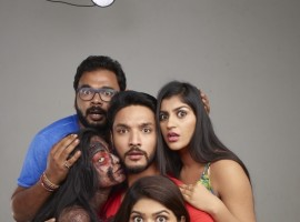 Iruttu Araiyil Murattu Kuththu is an upcoming Tamil adult comedy horror film written and directed by Santhosh P Jayakumar and Produced by KE Gnanavel Raja under Blue Ghost Pictures banner. Starring Gautham Karthik and Vaibhavi Shandilya in the lead role, while Shah Ra, Yaashika Aanand, Chandrika Ravi, Karunakaran, Rajendran, Bala Saravanan, John Vijay and Jangiri Madhumitha appear in the supporting role. The film's soundtrack album and background score will be composed by Balamurali Balu, which is scheduled to release on 04 May.