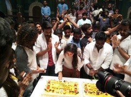 South Indian actress Sai Pallavi celebrates her birthday with Dhanush and Maari 2 team cast members, the actress has been receiving wishes from all over on social media. Directed by Balaji Mohan,