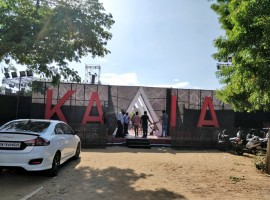 The grand audio launch of Kaala is about to begin in less than an hour, which will be held at YMCA grounds, Nandanam in Chennai on 9th May. The gangster film has been written and directed by Pa. Ranjith and bankrolled by Dhanush. Starring Superstar Rajinikanth in the lead role. The trilingual movie also features Nana Patekar, Huma Qureshi, actor-director Samudrakani and Eswari Rao among others. The audio launch function will start at 6.30 pm.