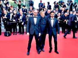 Actor-filmmaker-singer Dhanush walked the red carpet at the 71st Cannes Film Festival for his maiden Hollywood venture